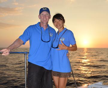 Captain Eric and Capt Yumi