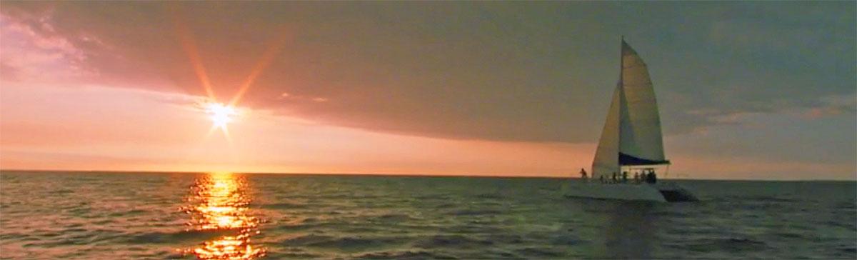 Big Island Sunset sail Kailua Kona sunset cruise Hawaii