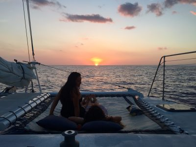 sunset sailing cruise big island