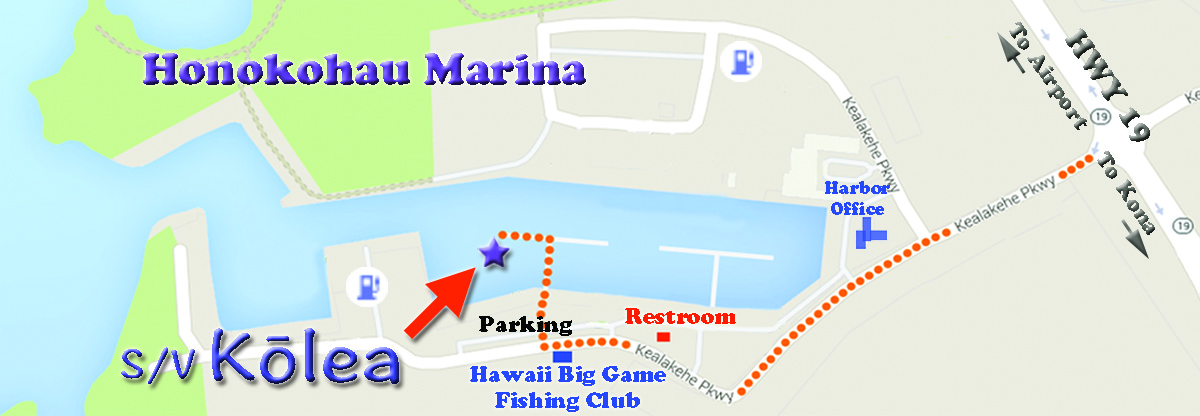 Map to Paradise Sailing Hawaii
