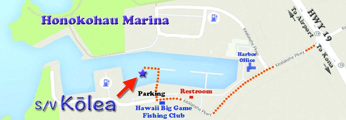 Map to Paradise Sailing Hawaii