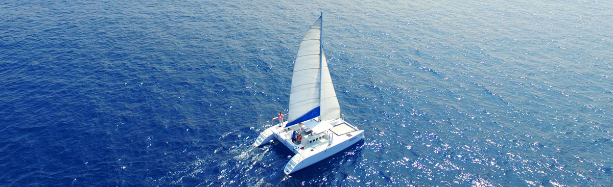 Private catamaran charter Big Island private boat charters Kona Hawaii